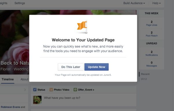 Are You Prepared for the New Facebook Brand Page?