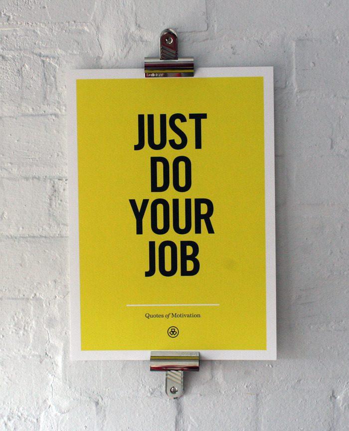 justdoyour-job