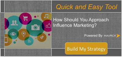 how should you approach influence marketing
