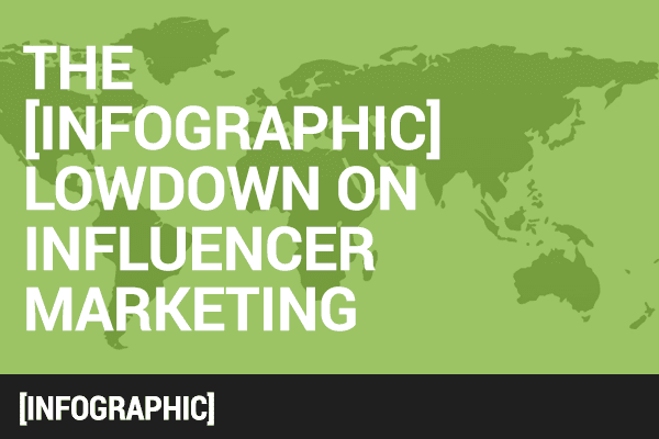 the lowdown of influencer marketing