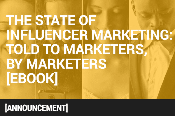 Mavrck Presents 'The State of Influencer Marketing' [eBook]