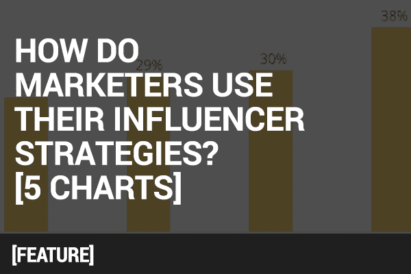 influencer strategies in 5 charts
