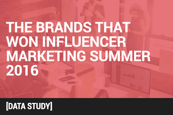 3 Brands Whose Facebook Influencer Marketing Efforts Stood Out this Summer